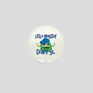 Little Monster Darryl Mini Button