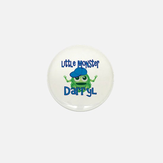 Little Monster Darryl Mini Button
