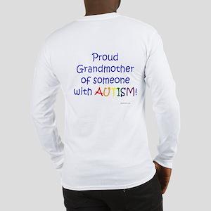 """Proud Grandmother"" Long Sleeve T-Shirt"