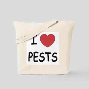 I heart pests Tote Bag