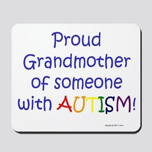 """Proud Grandmother"" Mousepad"