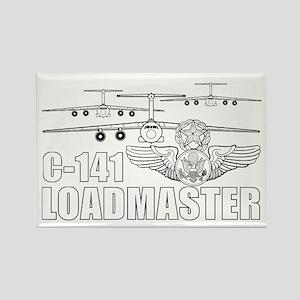 C-141 Loadmaster Rectangle Magnet