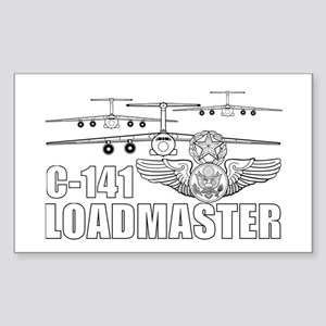 C-141 Loadmaster Sticker (Rectangle)