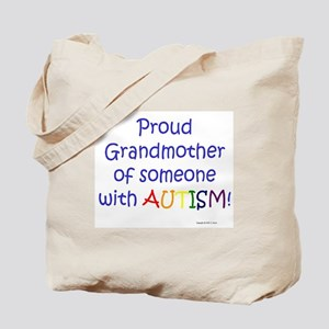 """Proud Grandmother"" Tote Bag"