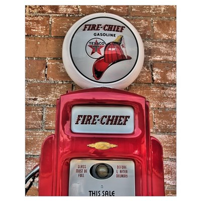 Fire Chief Pump Poster