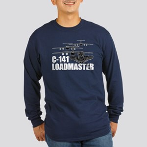 C-141 Loadmaster Long Sleeve Dark T-Shirt