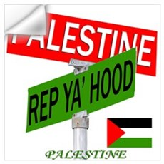 REP PALESTINE Wall Decal