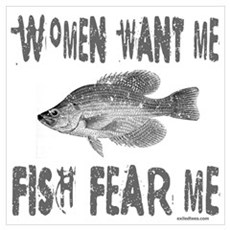 FISH FEAR ME Canvas Art