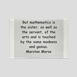 marston morse Rectangle Magnet