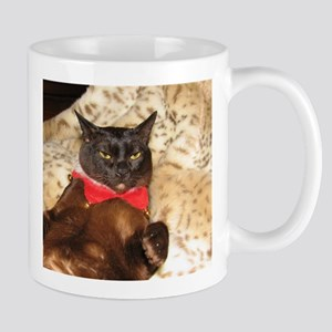 FPG Xmas Cat V Mug