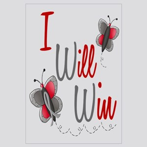 I Will Win 1 Butterfly 2 GREY