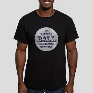 Testicular Cancer Survivor Men's Fitted T-Shirt (d