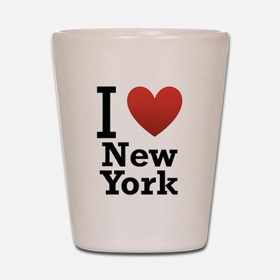 I love New York Shot Glass