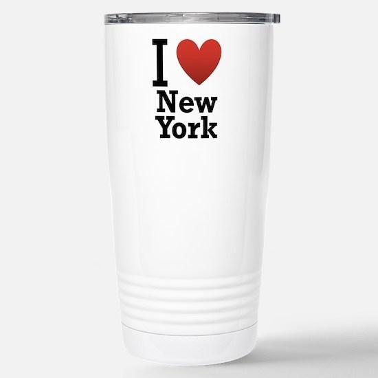 I love New York Stainless Steel Travel Mug