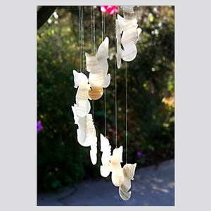 14x10 Seahorse Wind Chime