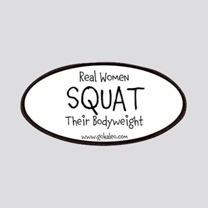 Real Women Squat Patches