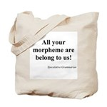 SpecGram Morpheme Tote Bag
