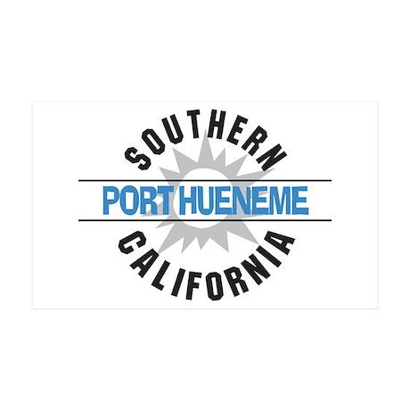 Port Hueneme California 38.5 x 24.5 Wall Peel