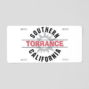 Torrance California Aluminum License Plate