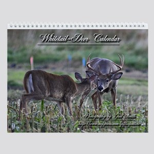 Whitetail Deer 2 Wall Calendar