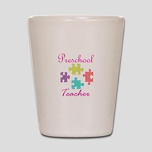 Preschool Teacher Shot Glass