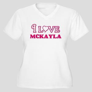 I Love Mckayla Plus Size T-Shirt