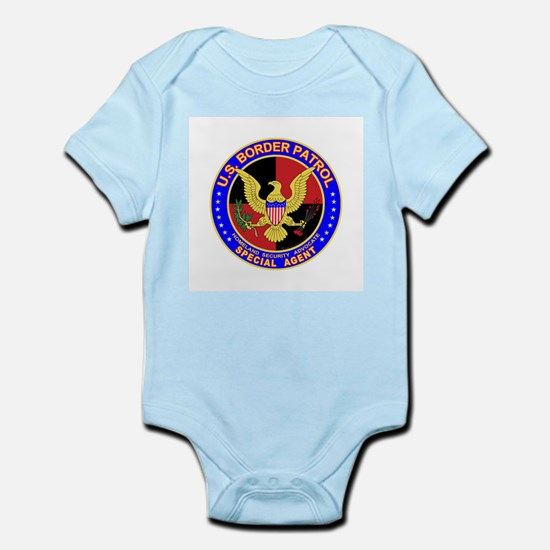 US Border Patrol SpAgent  Infant Creeper