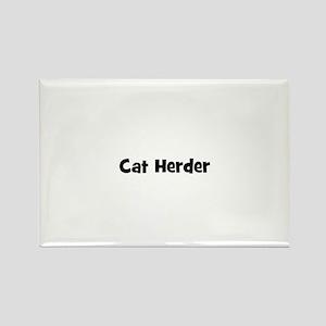 Cat Herder Rectangle Magnet