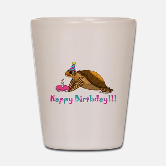 Happy Birthday Shot Glass