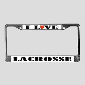 Lacrosse License Plate Frame Gift