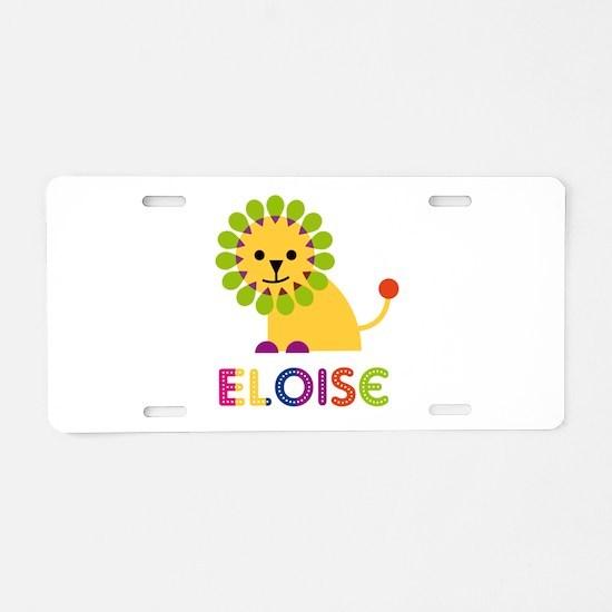 Eloise the Lion Aluminum License Plate