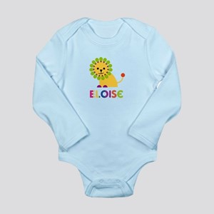 Eloise the Lion Long Sleeve Infant Bodysuit