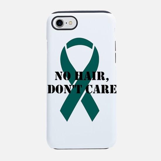 NO HAIR DONT CARE iPhone 7 Tough Case