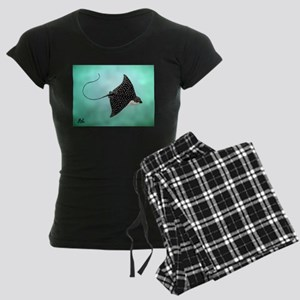 Spotted Eagle Ray Women's Dark Pajamas