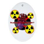 Chernobyl Heart Ornament (Oval)