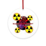 Chernobyl Heart Ornament (Round)