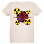 Chernobyl Heart Organic Kids T-Shirt