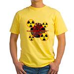 Chernobyl Heart Yellow T-Shirt