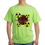 Chernobyl Heart Green T-Shirt