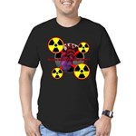 Chernobyl Heart Men's Fitted T-Shirt (dark)