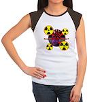 Chernobyl Heart Women's Cap Sleeve T-Shirt