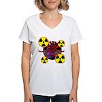 Chernobyl Heart Women's V-Neck T-Shirt