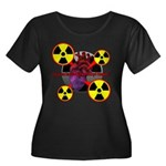 Chernobyl Heart Women's Plus Size Scoop Neck Dark