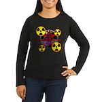 Chernobyl Heart Women's Long Sleeve Dark T-Shirt