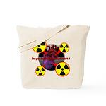 Chernobyl Heart Tote Bag