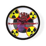 Chernobyl Heart Wall Clock