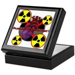 Chernobyl Heart Keepsake Box