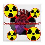 Chernobyl Heart Tile Coaster
