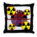 Chernobyl Heart Throw Pillow