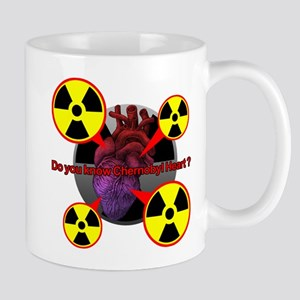 Chernobyl Heart Mug